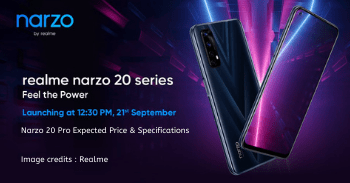 Realme Narzo 20 Pro Price in India and Specifications