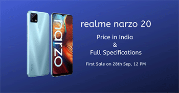 Realme Narzo 20 Price in India & Specifications