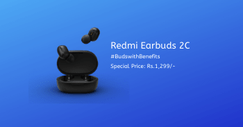 Redmi Earbuds 2C Price in India and Specifications